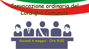 Convocazione ordinaria del Consiglio Comunale
