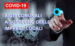 """Emergenza Covid 19 – Misure di sostegno alla ripresa economica – Erogazione contributi """"una tantum"""" a favore delle attività economiche operanti nel territorio comunale"""