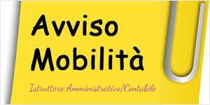 Avviso pubblico per la copertura, mediante mobilità volontaria ex art. 30 del d.lgs. 165/2001, di n. 1 posto di Istruttore Amministrativo/Contabile  Cat. C - a tempo pieno e indeterminato