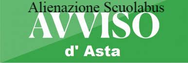 BANDO DI GARA PER L'ALIENAZIONE dello Scuolabus comunale Fiat Ducato 230CPMEC targato BN952JW