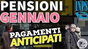Poste Italiane comunica che anche per il mese di Gennaio procederà all'erogazione anticipata delle pensioni a partire dal 28 Dicembre 2020 e fino al 2 Gennaio 2021