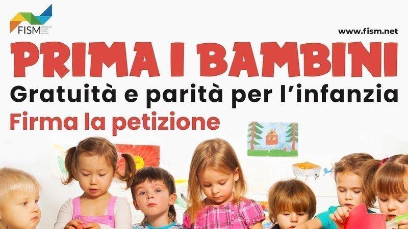 PRIMA I BAMBINI gratuità e parità per l'infanzia