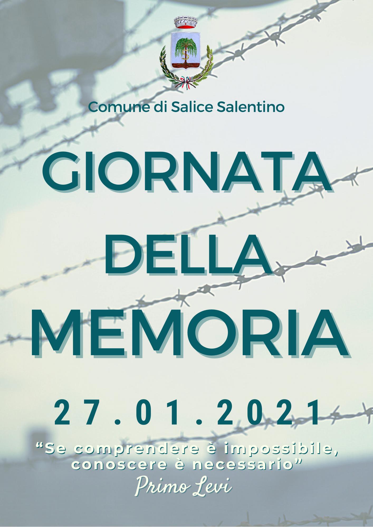 La giornata della memoria - 2021