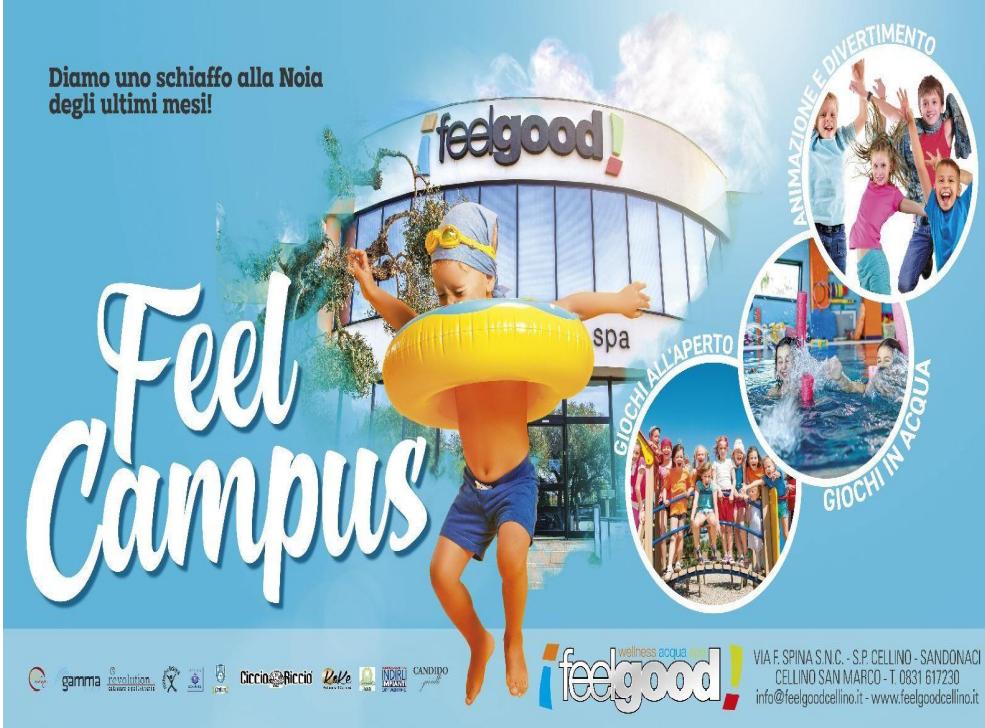 Campus Estivi per minori presso Feel Good